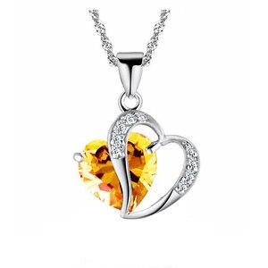 LNRRABC Новое поступление корейский преувеличенный винтажный черный камень сердце любовь Камень Бусы короткий свитер цепочка ожерелье воротник синий розовый