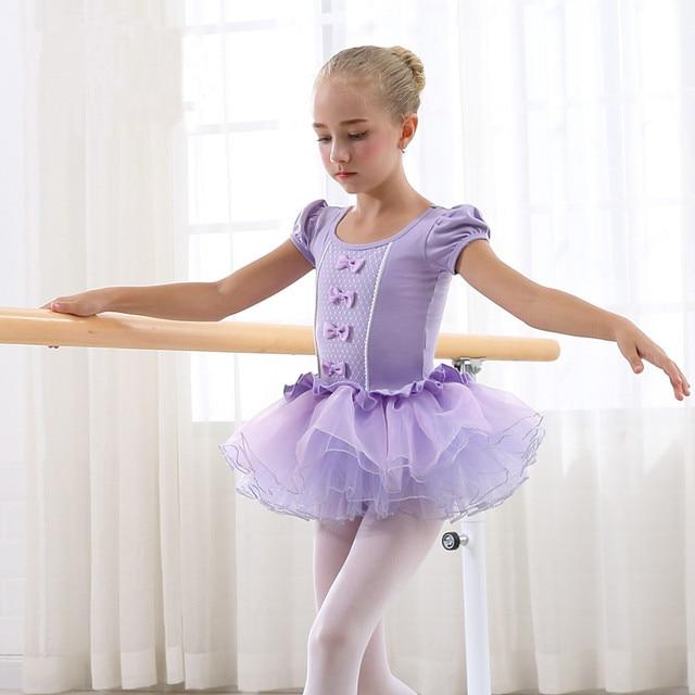 8fb631ef8b74 Girls Ballet Dress For Children Kids Dance Clothing Dresses Girls ...
