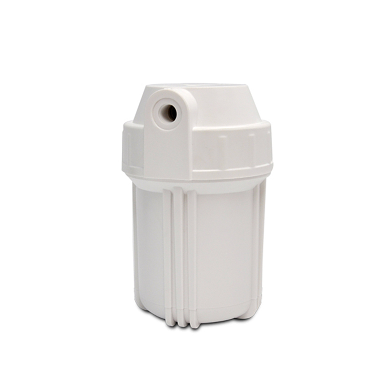 Refillable Filter Bottle 5 Inch White Filter Housing RO Water Filter Cartridge With 1/2 Port For Reverse osmosis System