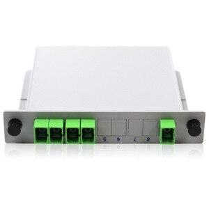 Image 2 - PLC 1X4 PLC Splitter Fiber Optical Box  PLC Splitter box FTTH PLC Splitter with SC/APC connector