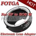 Fotga Электронный AF Объектива Переходное Металлическое Кольцо для Canon EF EF-S для M EF-M