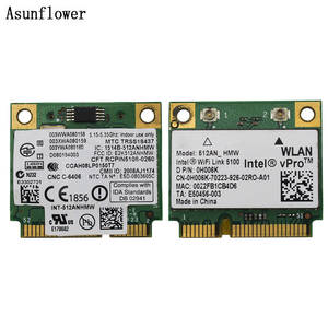 Adapter Link Laptop 5100 Intel Wifi Dell 512an Hmw Pci-E-Card Wlan MINI Network-2.4g/5ghz