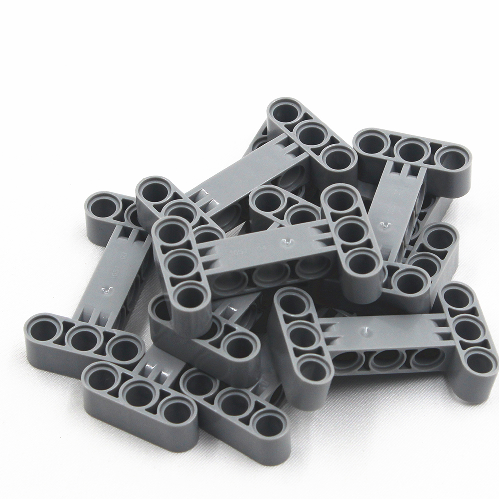 Self-Locking Bricks Free Creation Of Toy Technic Parts BEAM I -FRAME 3X5 90 DEGR. HOLE DIA4.85 10Pcs Compatible With Lego