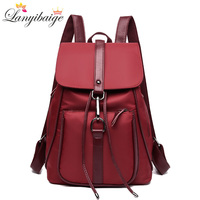 2019 Summer Women Backpacks Oxford Cloth Women Shoulder Bag High Capacity Ladies Travel Backpack Fashion Girls School Bags