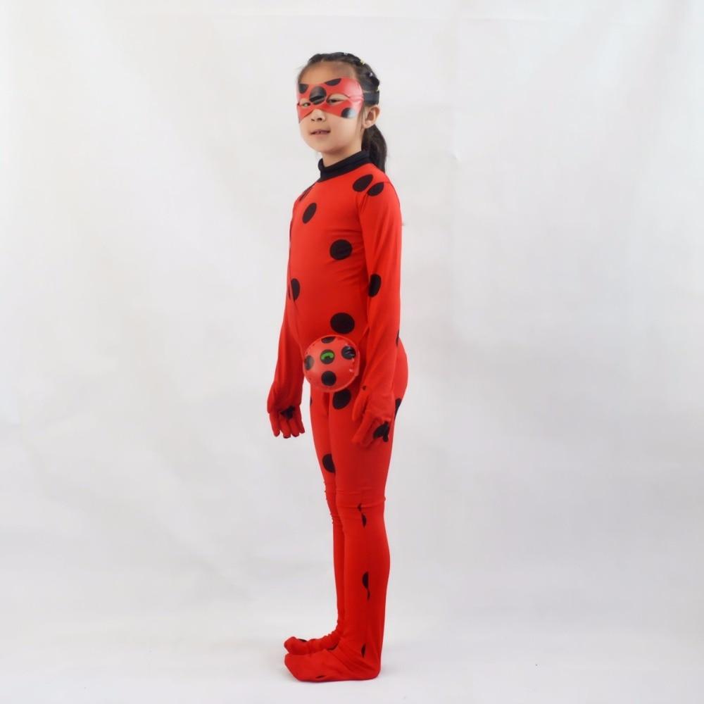 Cosplay Miraculous Marienkäfer kostüm Mädchen Halloween kostüm ...