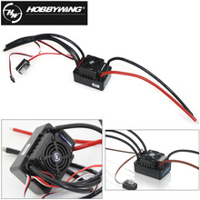 цена на 1pcs 100% original Hobbywing Speed Controller Hobbywing EZRUN Waterproof WP SC8 120A Brushless ESC