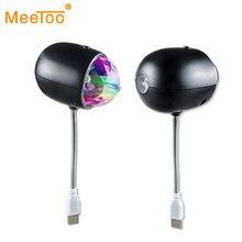 Luz LED de Escenario 2 en 1 con USB, bola mágica de cristal, RGB, lámpara de efecto de iluminación para fiestas, KTV, Bar, Disco, DJ, Lumiere