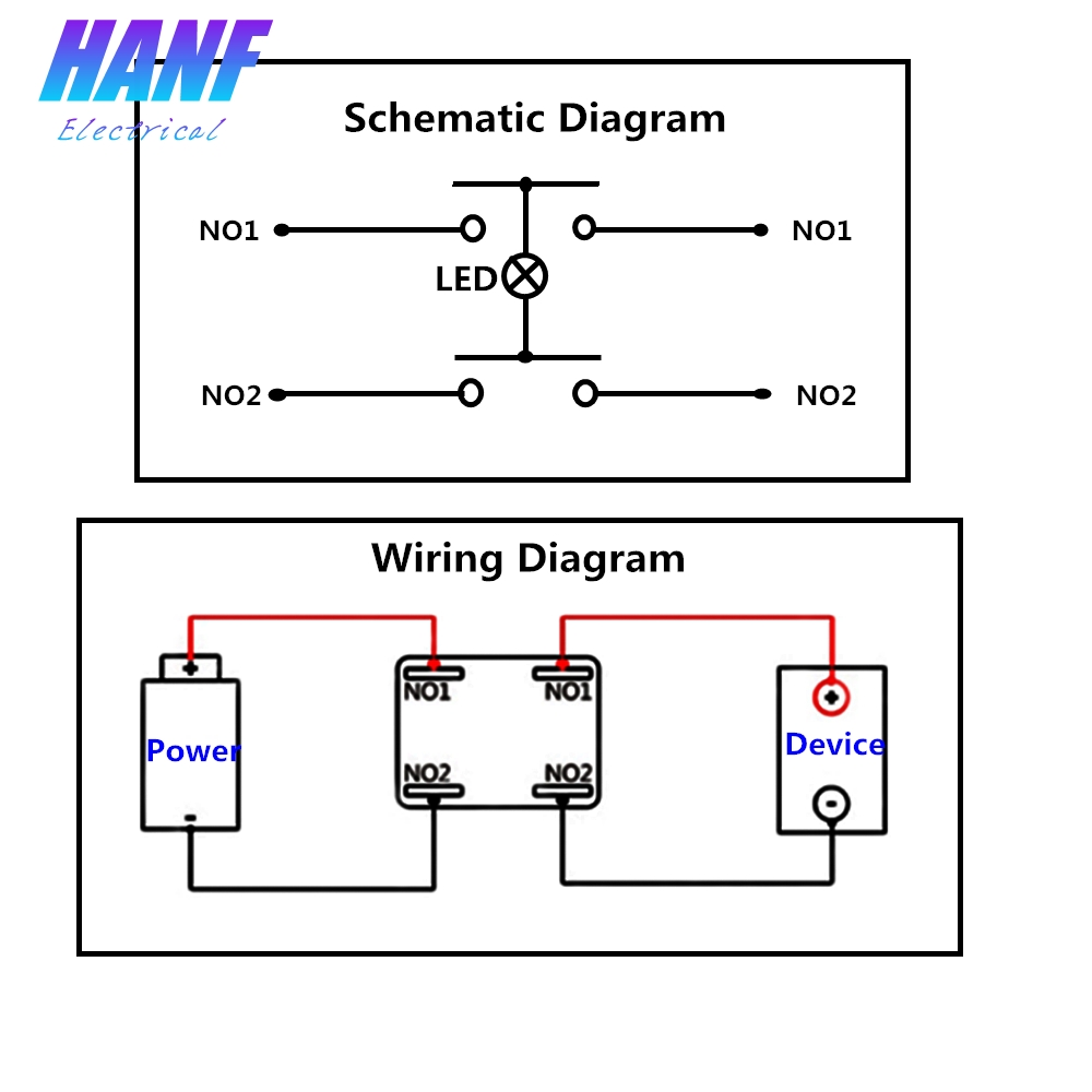 1pcs 15a 220v 2no Momentary Square Metal Push Button Switch With Diagram The Is Widely Used In Modification Of Doorcomputermotorcyclecar Electrical Appliancemachinery And Other Equipments