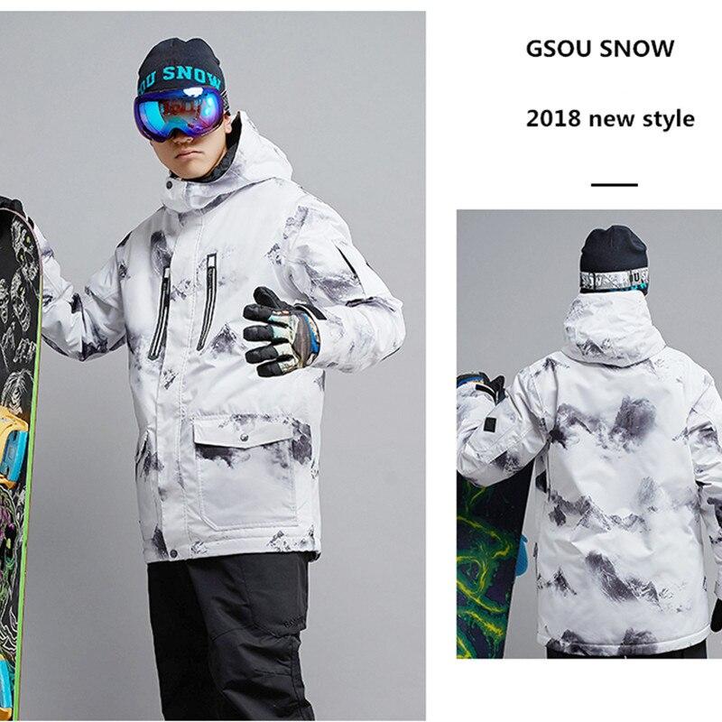 Para os homens De Esqui jaqueta Esporte