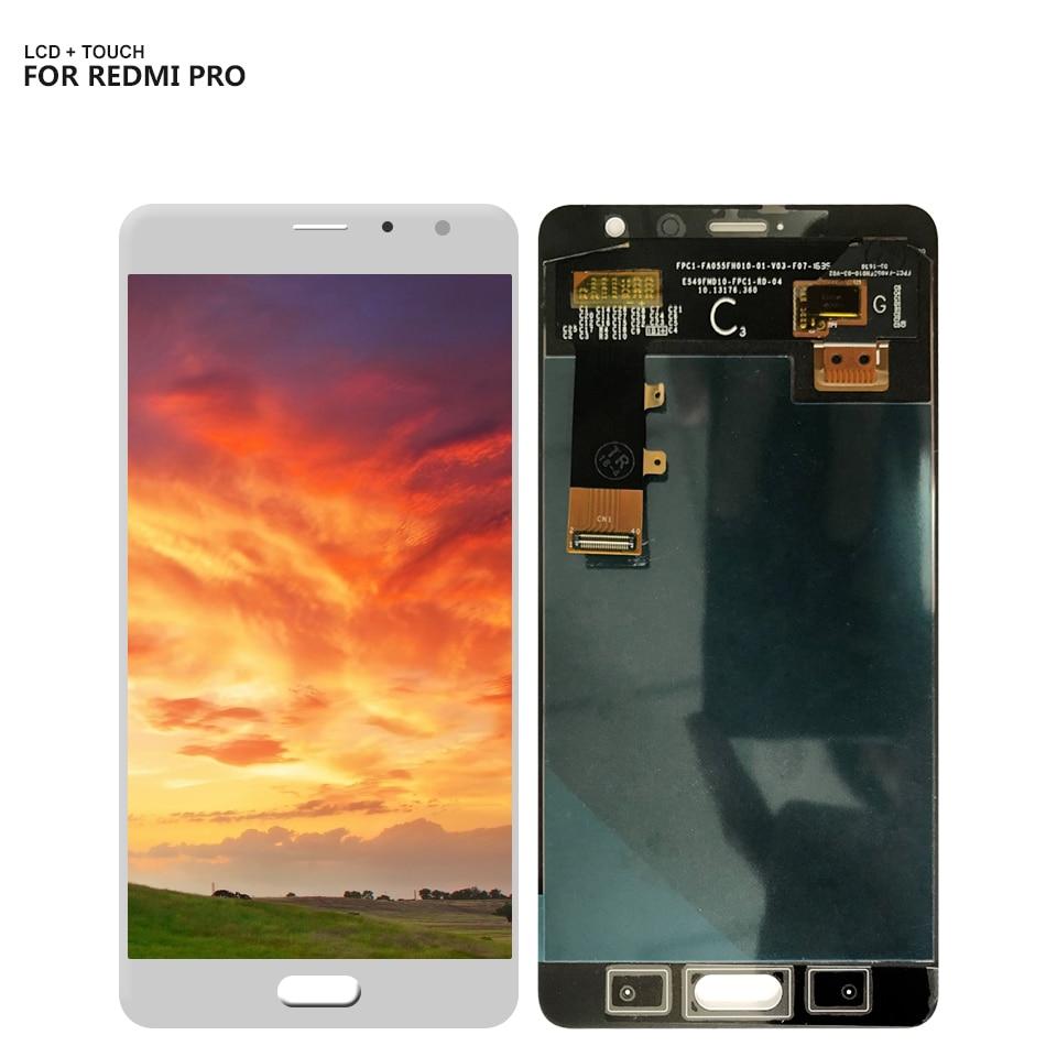 Per Xiaomi Hongmi Pro Redmi Pro Display LCD Screen Digitizer Touch Panel Vetro Sensor Assembly + Frame