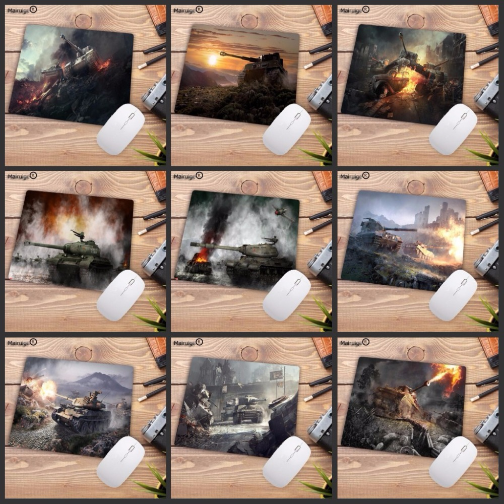 купить Mairuige Big Promotion World of Tanks Mouse Pad Gamer Mousepad Notebook Computer Gaming Pad to Mouse WOT LOL CS DOTA2 Play Mats онлайн