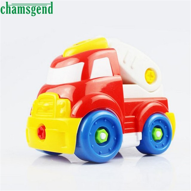 2017 hot christmas gift child baby disassembly assembly cartoon dump truck toy sep 01