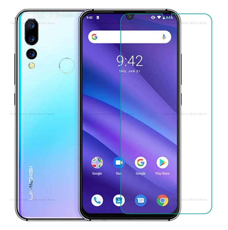 """For Umidigi A5 Pro X Tempered Glass Protective Glass Screen Protector For UMIDIGI A5 PRO 6.3"""" F1 Z2 S2 S3 Pro Mobile Phone Film"""