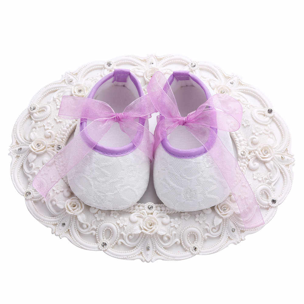 fd52134a7df3a Christening Zapatos Shabby Flower Baby Girl Shoes Bow Headband  Set,Rhinestone Crib Baby Booties,Crib Toddler Girl Boots Shoes