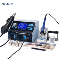 WEP 992D + паяльная станция горячего воздуха паяльная станция