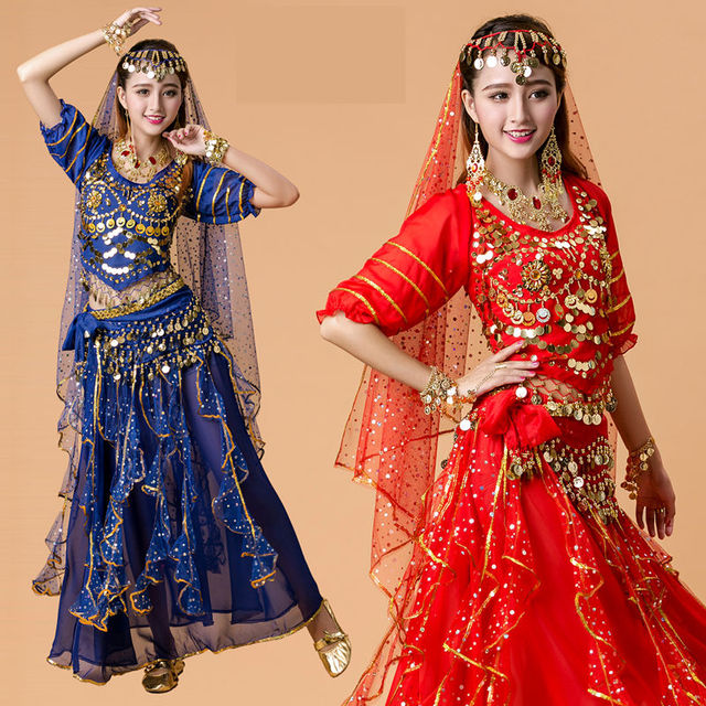 2017 New Lady Belly Dance Costume Bollywood Costume Indian Dress Bellydance  Dress Womens Belly Dancing Costume