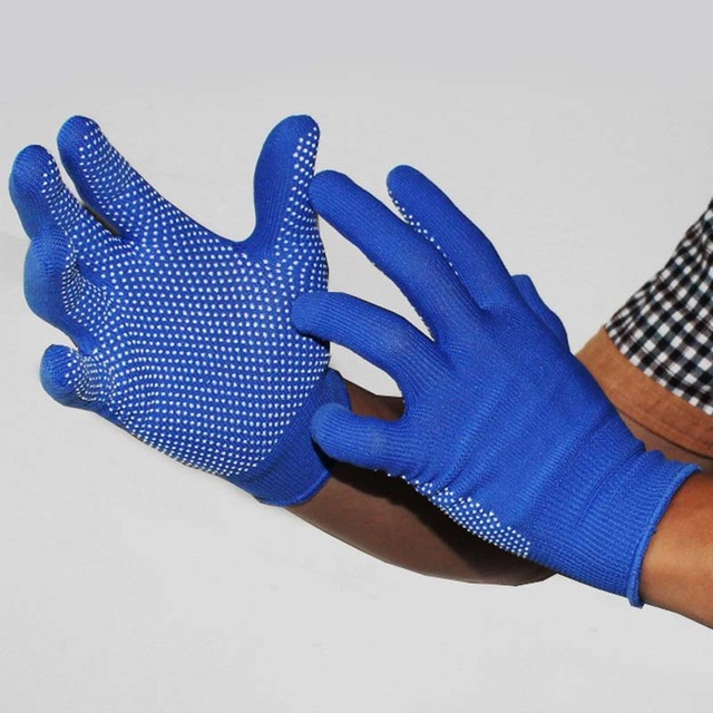 New Arrival Fashion men Non-slip with Silica Gel gloves fingerless Glove anti slip lifting full Finger Working Gloves F0297