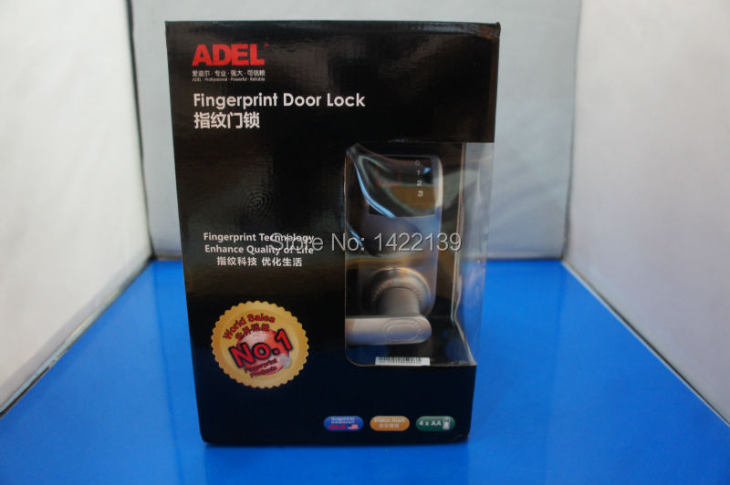 цены  New ADEL3398 , Biometric Fingerprint Keyless DIY Door Lock ,3 in 1(Fingerprint+password+mechanical key) with installation tool
