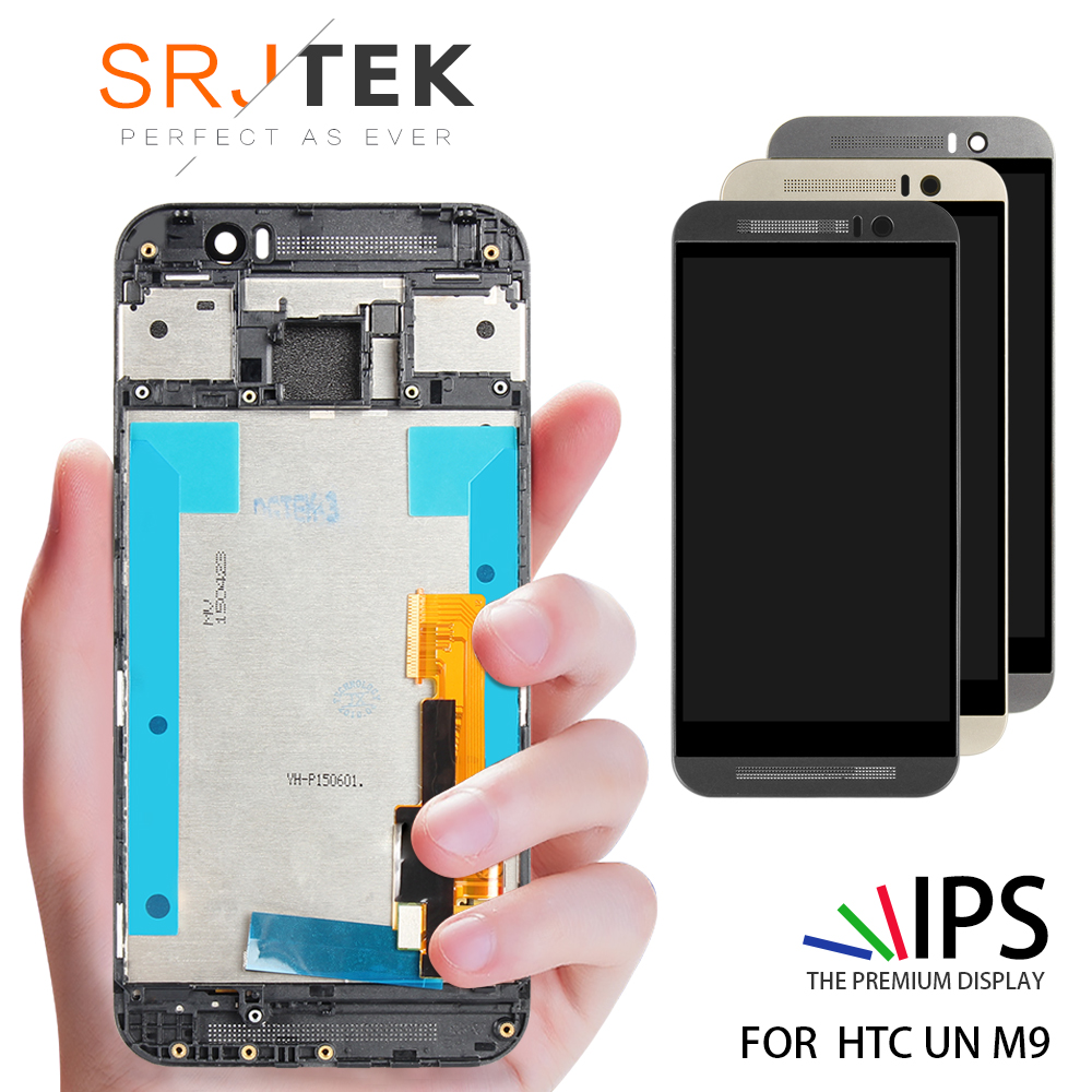 5 For HTC ONE M9 LCD Touch Screen with Frame For HTC ONE M9 Display Digitizer Assembly Replacement Parts M9E M9W5 For HTC ONE M9 LCD Touch Screen with Frame For HTC ONE M9 Display Digitizer Assembly Replacement Parts M9E M9W