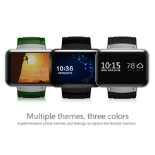 """2017 Fashion DM98 Anti-lost SmartWatch Card-inserted GPS 2.2"""" 900Mah Display SmartPhone with LED Dual Core Camera WIFI 3G QQ GPS"""