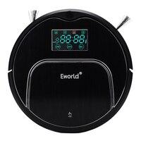 (Livre para RUS) Eworld M883 Robot Vacuum Cleaner Casa Piso de Carpete Anti Colisão Anti Queda Auto Carga Controle Remoto Auto Limpa
