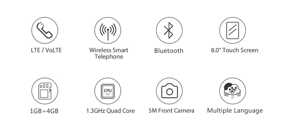 Smart 4G Fixed Wireless Landline Android 6 0 With Videophone