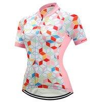 Fualrny Cycling Jersey Women Bike Team Racing Cycling Clothing Maillot Ciclismo Mujer Summer Short Sleeve MTB
