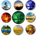 Schöne Natürliche Landschaft 30mm Magnet Kühlschrank Glas Dome Leucht Kühlschrank Magneten Magnetischen Aufkleber für Kühlschrank DIY Geschenke|Kühlschrank-Magnete|Heim und Garten -