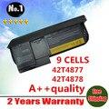Nova 9 células bateria do portátil para lenovo thinkpad x230 tablet x230t series 42t4881 42t4882 42t4879 0a36285 42t4878 frete grátis