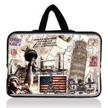 "10"" 12"" 13"" 14"" 15"" 17"" Print fashion Laptop Neoprene Soft Sleeve Bag Case Cover+ Hide Handle Sleeve for Laptop / Netbook"