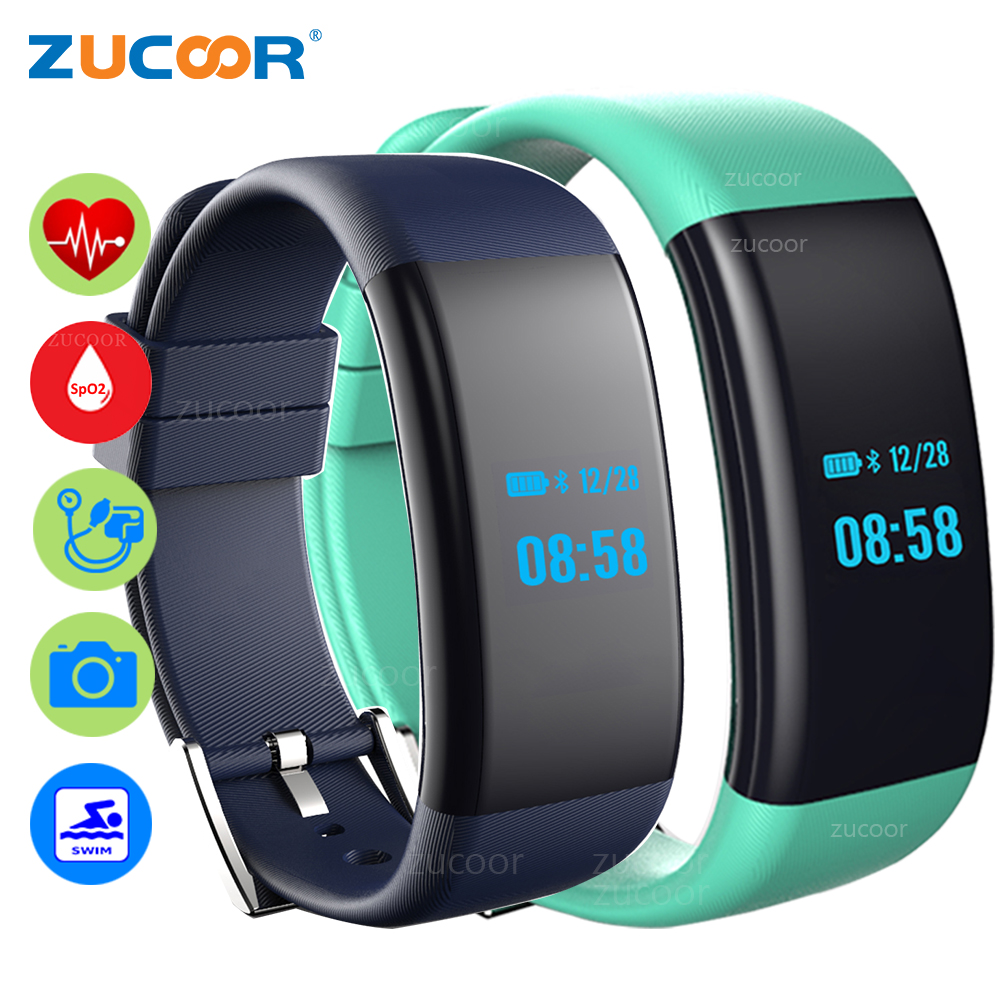 Qw18 Smart Armband Ip68 Schwimmen Wasserdichte Blutdruck Blut Sauerstoff Herz Rate Monitor Schrittzähler Erinnerung Smart Armband Intelligente Armbänder Unterhaltungselektronik