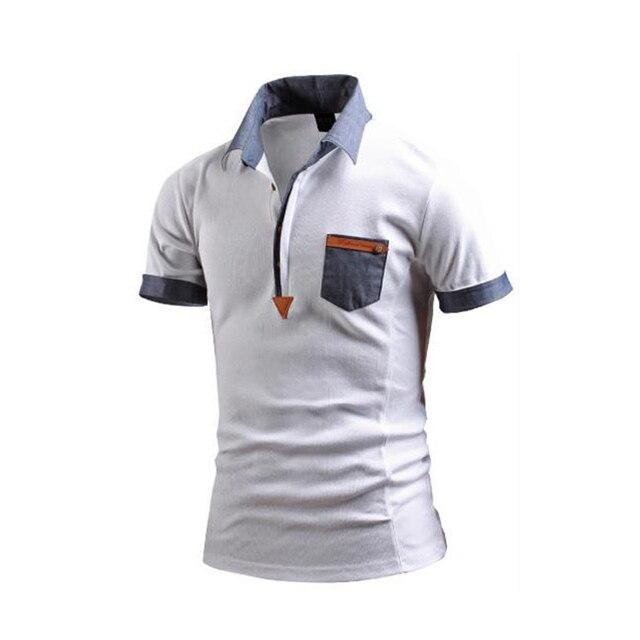 Новые поступления моды для мужчин polo рубашки британский дизайн фитнес camisa polo masculina М-3XL CYG46