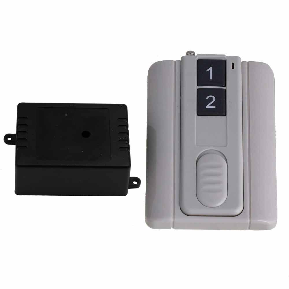 433MHz 24V Remote Control 1CH 2 Key Base Transmitter for light Motor