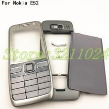 Bateria original para nokia e52, boa qualidade, carcaça frontal, tampa traseira, inglês e russo, teclado + logo