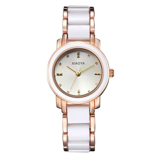 Mulher relógio Pulseira de Relógio Das Mulheres Relógios de Marca de Topo Relógio XIAOYA Traje Para As Mulheres de Aço Inoxidável de Volta Resistente À Água das Mulheres
