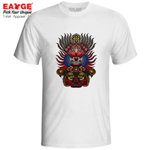 Art Of Tiger General T Shirt Peking Beijing Opera Legacy Rock Print Design T-shirt Anime Punk Fashion Unisex Men Women Tee