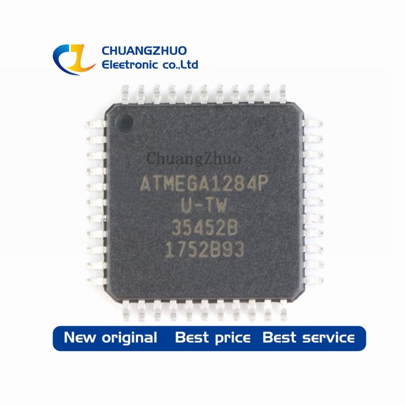 10PCS ATMEGA1284P AU ATMEGA1284P ATMEGA1284 ATMEGA1284P AU TQFP44 100 NEW ORIGINAL Free shipping