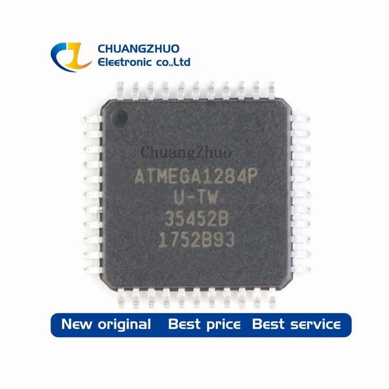 TOP 3 Atmel Microchip ATmega1284P  AU im TQFP 44 Gehäuse 3 Stück NEU SMD Case