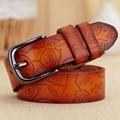 [HIMUNU] 2015 100% Genuine Leather belts for women belt brand ceinture homme fashion Metal buckle women belt leather cintos