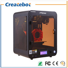 New High Speed Semi closed Createbot Single Dual Extruder Mini 3D Printer Machine Kit with 1kg