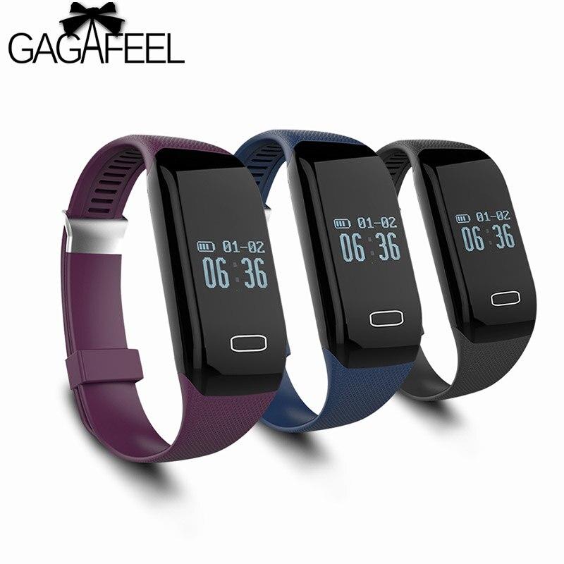e35c4f1d4093 GAGAFEEL Deporte Pulsera Inteligente para iphone IOS Android Samsung Heart  Rate Monitor Inteligente Relojes para Hombres de Las Mujeres Reloj envíos  ...