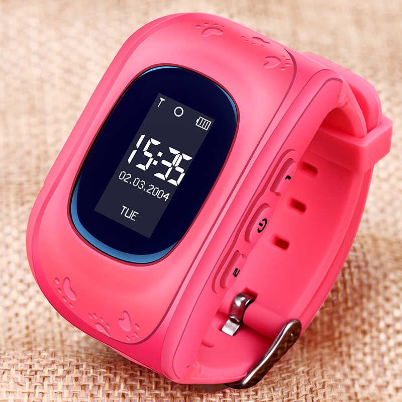 WISHDOIT GPS Smart Watch Kid Safe smart Watch SOS Call GPS Second Generation Chip SOS Call Location Finder Relogio infantil+Box