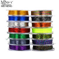 MNFT 1Pcs 50M Guide Tying Thread Rod Build Braided Line Metallic Rod Building Wrapping Thread 14 Colors Rod Line DIY Fishing Rod