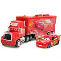 Disney Pixar Mc Queen Auto del Metallo Pixar Cars Camion McQueenes Diecast 1:55 In Metallo Giocattolo Modello di Auto Giocattoli Per Bambini