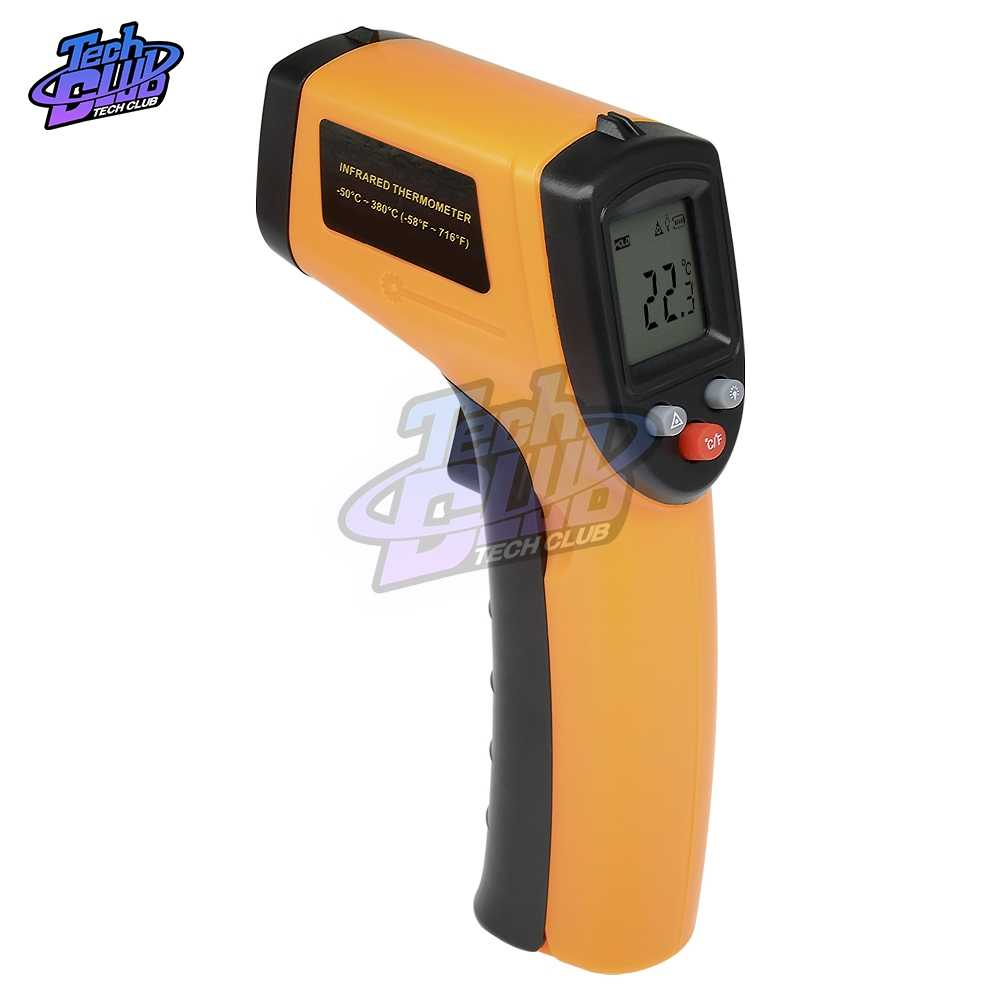 Digital GM320 Infrared Thermometer Non Contact Infrared Thermometer Suhu Pyrometer IR Laser Gun-50 ~ 380 Derajat