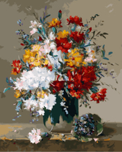 "DIY Painting By Number – Flower (16""x20"" / 40x50cm)"