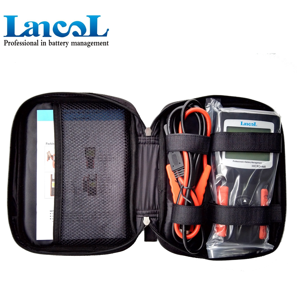 Lancol MICRO468 Car Battery Tester Tool Battery For Car Factory Portable 12V Auto Digital CCA Automobile Battery Analyzer Tester