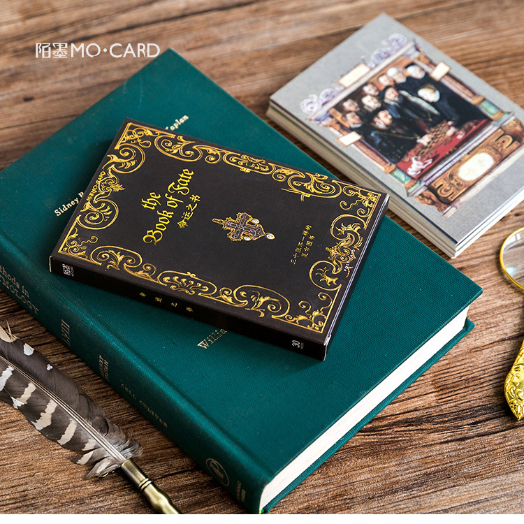 30Sheets/Set The Book Of Fate Postcard /Greeting Card/Message Card/Christmas And New Year Gifts