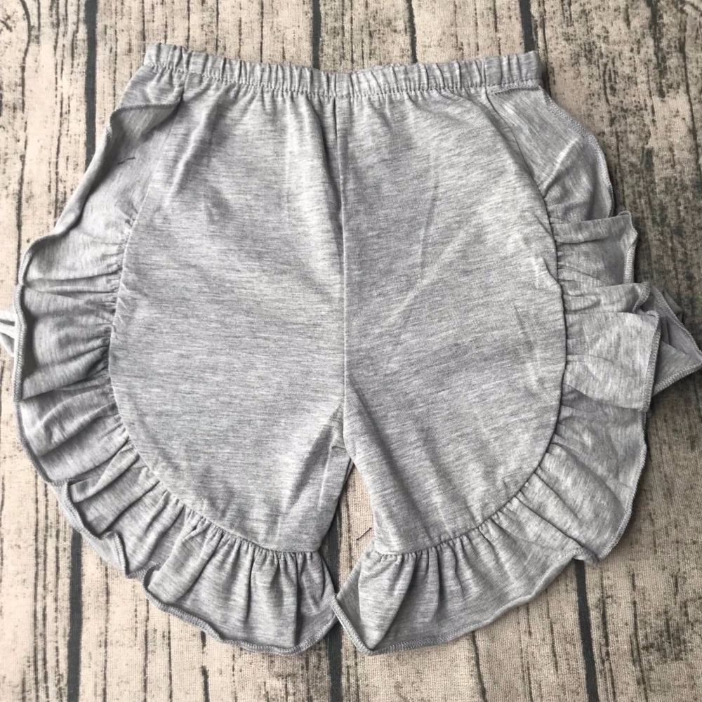 custom children xxx photo pakistan photos summer clothes baby summer shorts girls ruffle shorts wholesale
