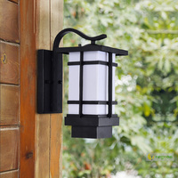 New Vintage wall Lights outdoor waterproof aisle balcony garden villa indoor retro garden European Led lamp outdoor wall lamp